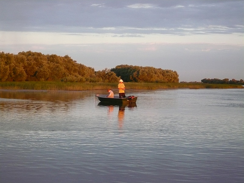 Восход последнего дня рыбалки