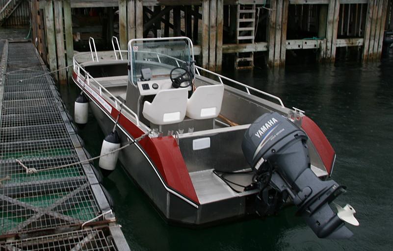 производство моторных алюминиевых лодок